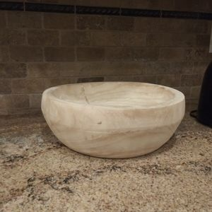 Threshold Accents - Studio Mcgee Wood Bowl Threshold NWT